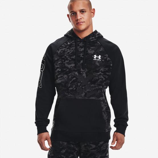 Under Armour Rival Fleece Ανδρική Μπλούζα με Κουκούλα