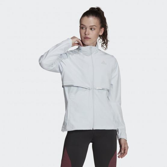 adidas Performance Own The Run Γυναικεία Αντιανεμική Ζακέτα