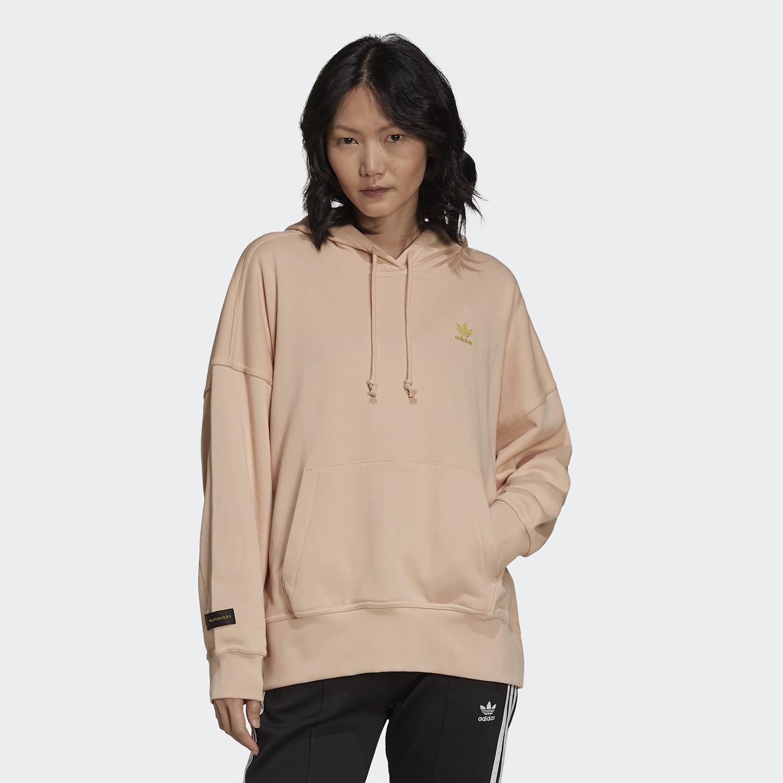 adidas Originals Marimekko Oversize Γυναικεία Μπλούζα Με Κουκούλα (9000091117_50079)