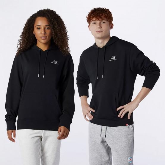 New Balance Essentials Embroidered Unisex Μπλούζα με Κουκούλα