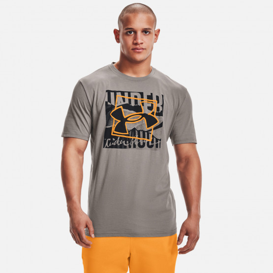 Under Armour Boxed Symbol Outline Ανδρικό T-Shirt