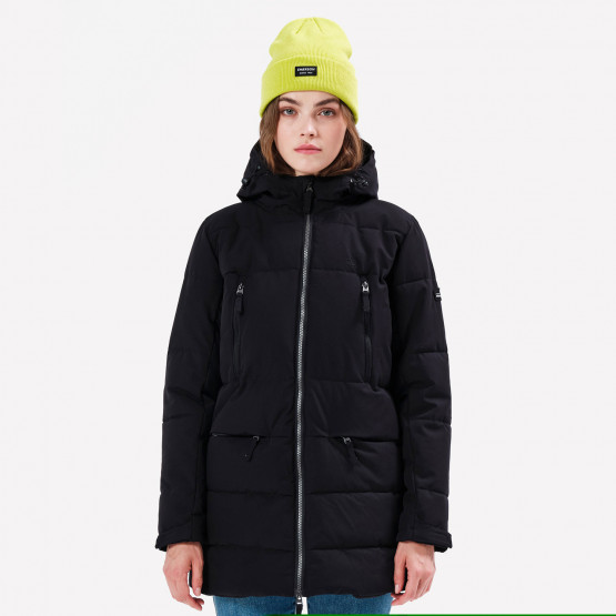 Emerson Women's P.P.Down Long Jacket with Hood