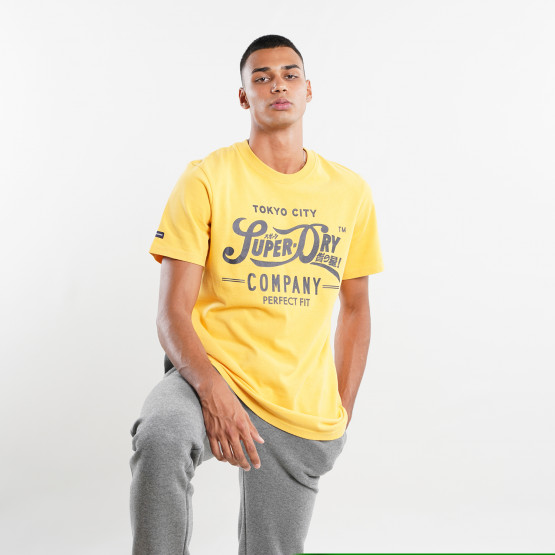 Superdry Script Style Col Ανδρικό T-shirt