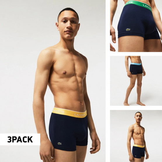 Lacoste 3 Pack Trunk Ανδρικά Μπόξερ