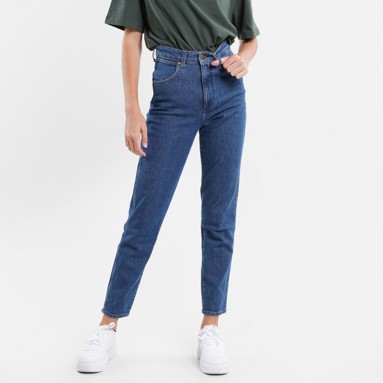 Wrangler Mom Γυναικείο Παντελόνι