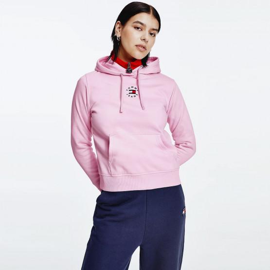 Tommy Jeans Logo Embroidery Γυναικεία Μπλούζα με Κουκούλα