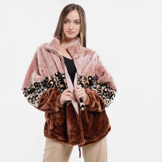 Ugg W Elaina Faux Fur Jacket