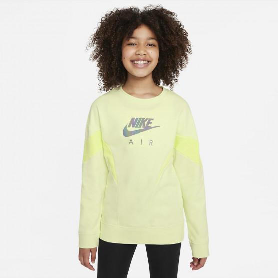 Nike Air French Terry Kids' Sweatshirt