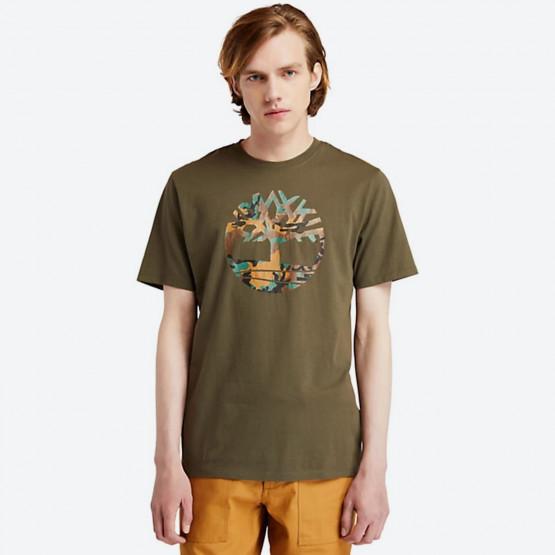 Timberland Camo Tree Men's T-Shirt