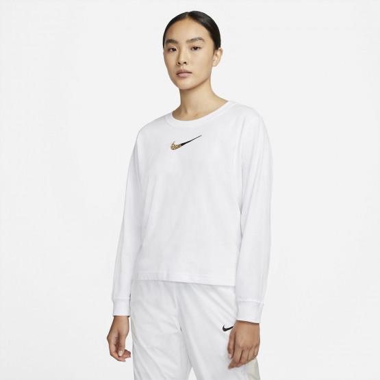 Nike Sportswear Boxy Patch Women's Long Sleeves Blouse