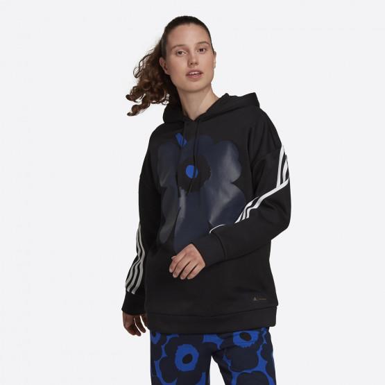 adidas Performance Marimekko Γυναικεία Μπλούζα με Κουκούλα