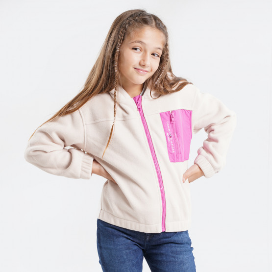 Tommy Jeans Soft Colourblock Zip Kids' Jacket