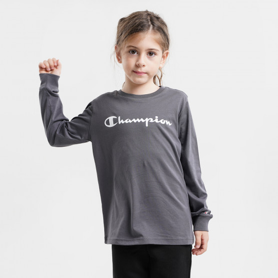 Champion Παιδική Μπλούζα Με Μακρύ Μανίκι