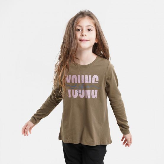 Name it Nkfviolet Παιδική Μπλούζα Με Μακρύ Μανίκι