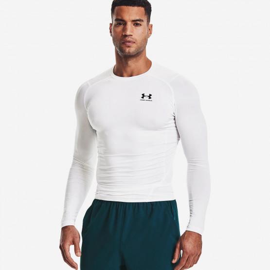 Under Armour Hg Armour Comp Ανδρική Ισοθερμική Μπλούζα με Μακρύ Μανίκι