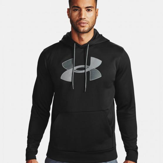 Under Armour Fleece Big Logo Ανδρική Μπλούζα με Κουκούλα