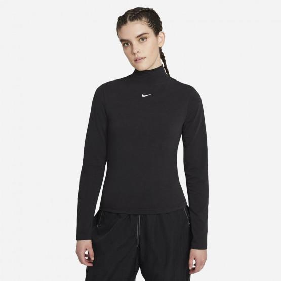Nike Sportswear Collection Essentials Γυναιεκία Μπλούζα με Μακρύ Μανίκι