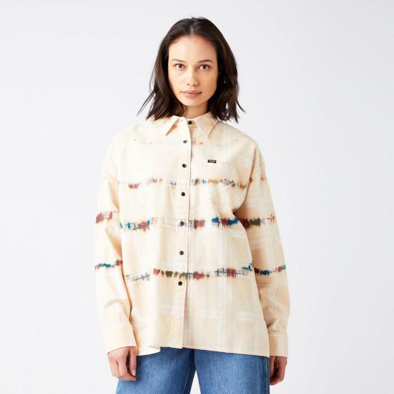 Wrangler Oversized Shirt Almost Mauve