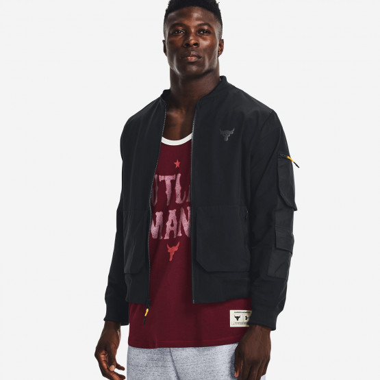 Under Armour Project Rock Bomber Ανδρική Ζακέτα