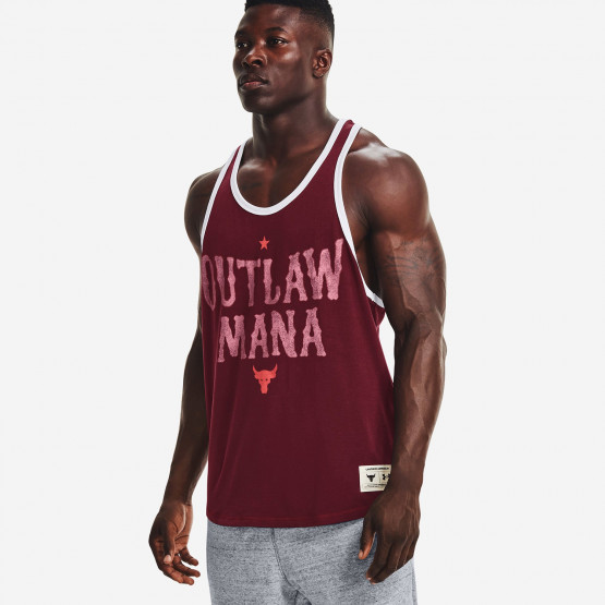 Under Armour Project Rock Outlaw Mana Ανδρική Αμάνικη Μπλούζα