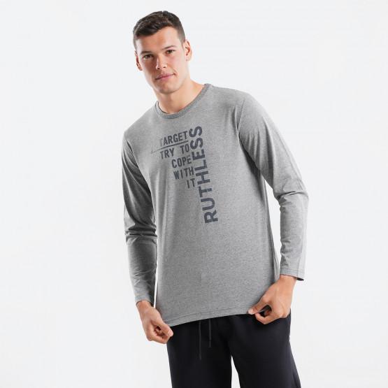Target Ruthless Ανδρική Μπλούζα με Μακρύ Μανίκι