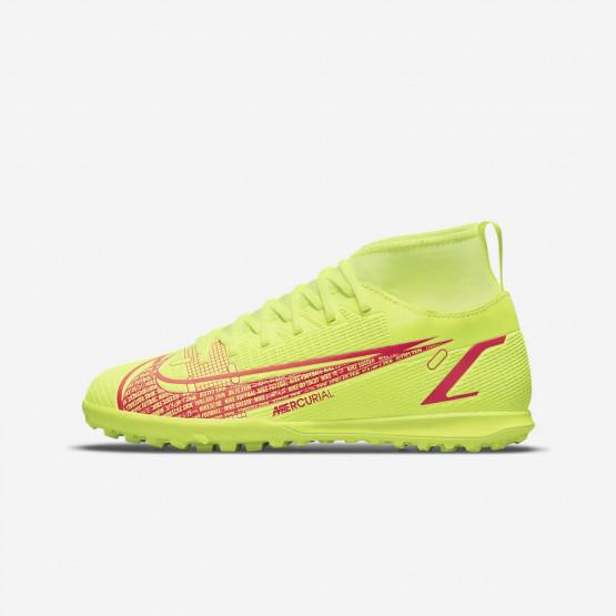 Nike Mercurial Superfly 8 Club TF Παιδικά Παπούτσια για Ποδόσφαιρο