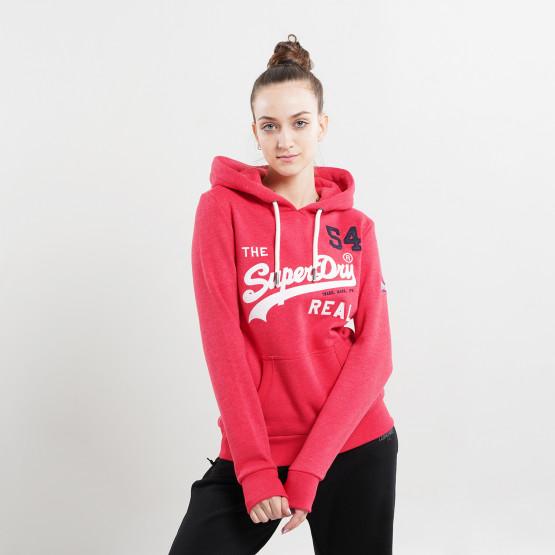 Superdry Vl Source Γυναικεία Μπλούζα με Κουκούλα