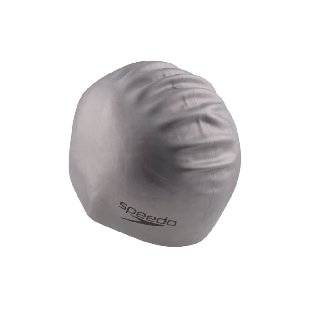 Speedo Plain Moulded Silicone Cap Σκουφάκι