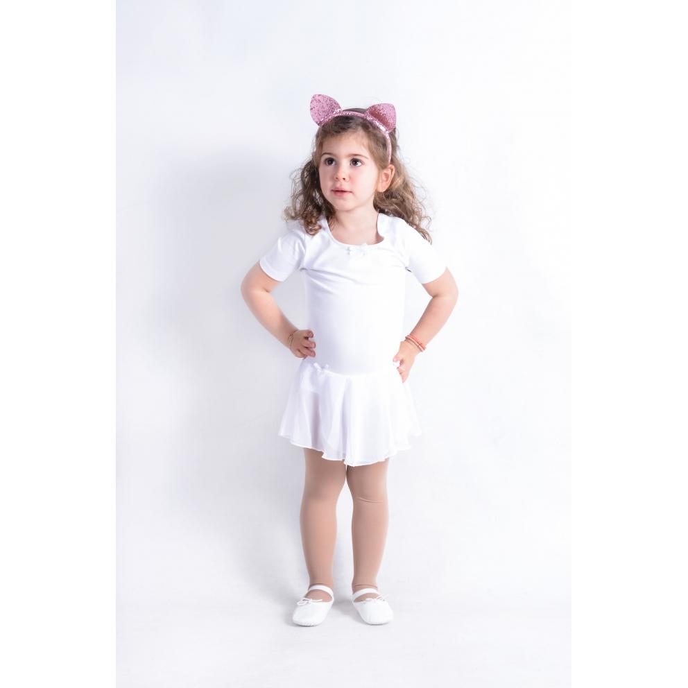 Go Dance Παιδικό Κορμάκι με Φούστα