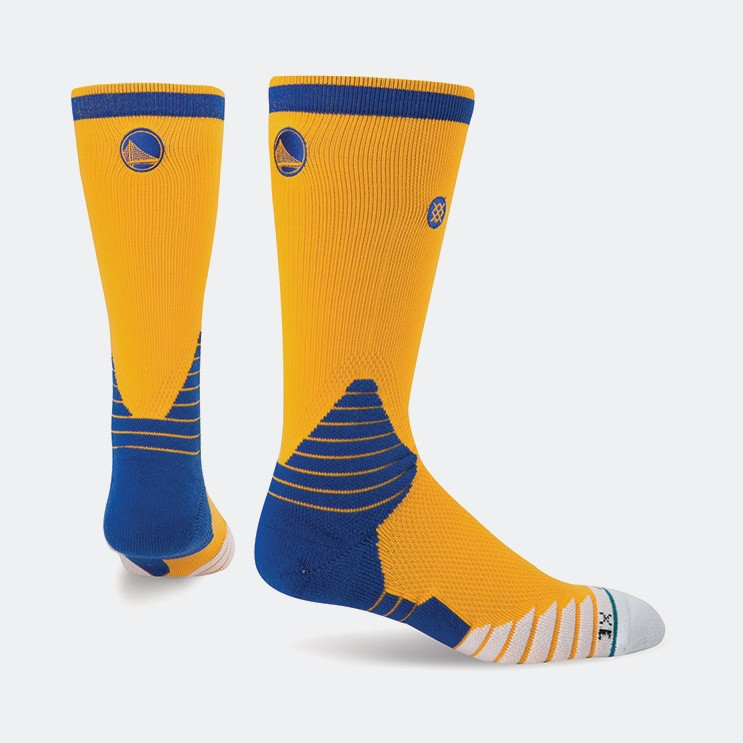 Stance Logo Crew Warriors NBA On Court Collection | Ανδρικές Κάλτσες (3023810073_2005)