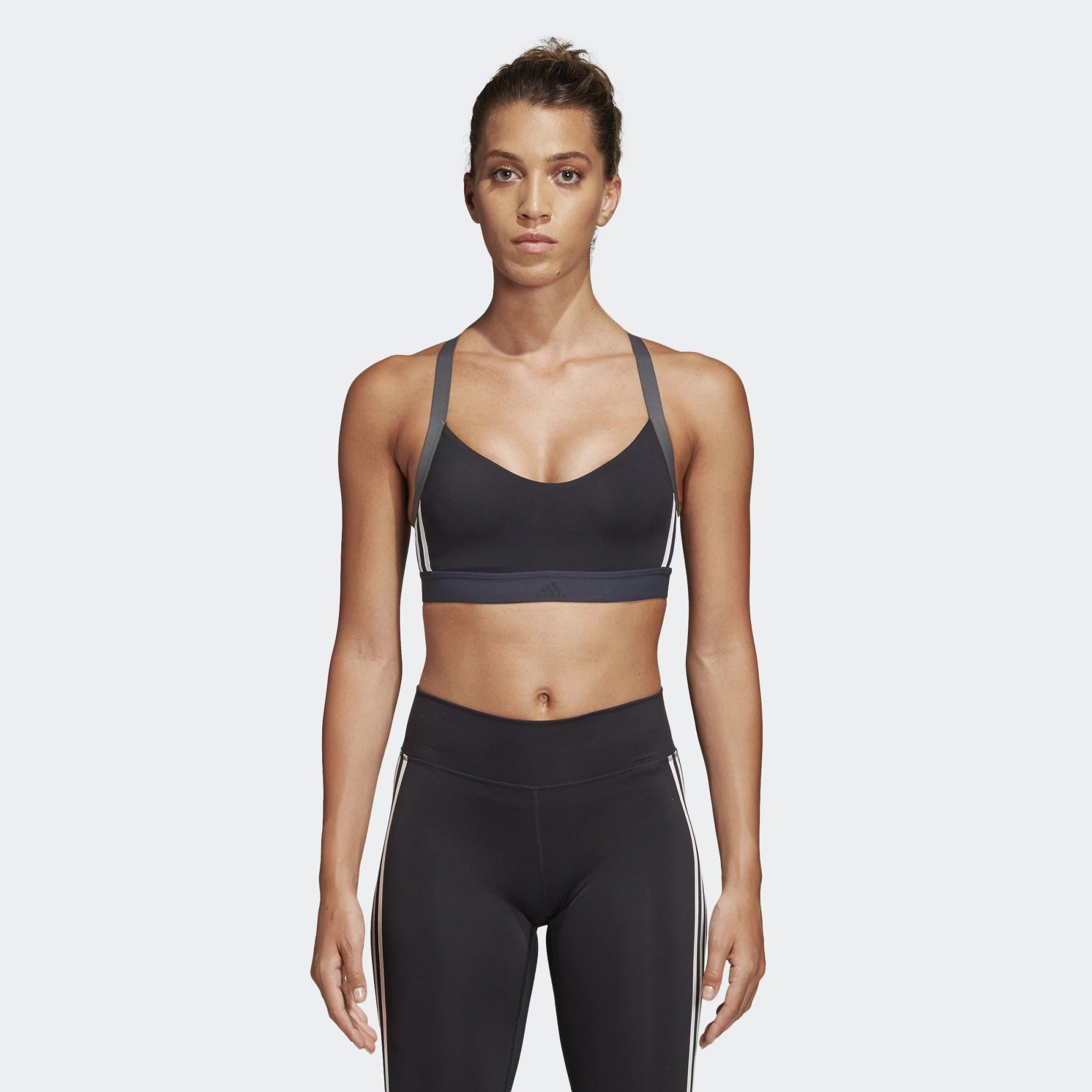 adidas All Me 3-Stripes Women's Bra – Γυναικείο Μπουστάκι (9000023552_1469)