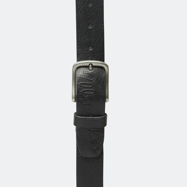 Wrangler W LOGO EMBOSS BLACK (3083110098_1469)