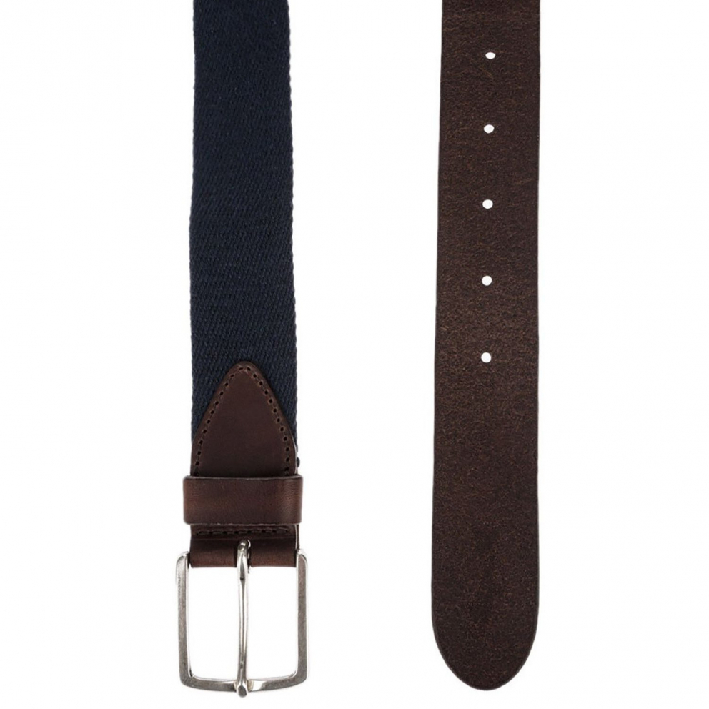 Wrangler Canvas Belt Navy | Men's Belt