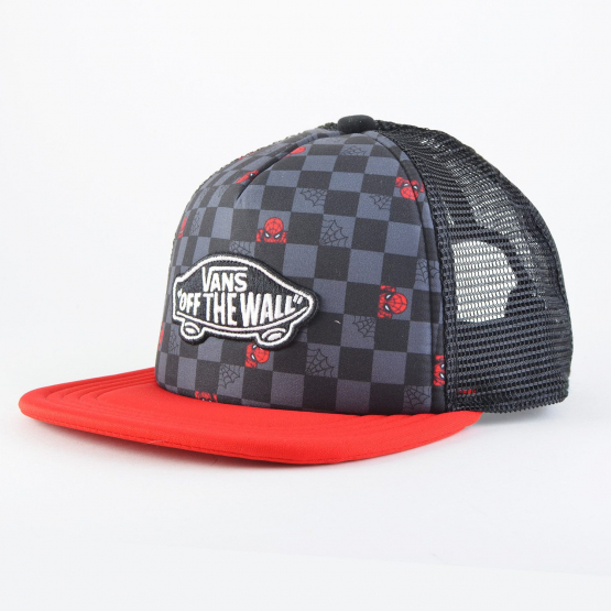 Vans X Marvel Classic Patch Trucker Plus Spiderman Hat