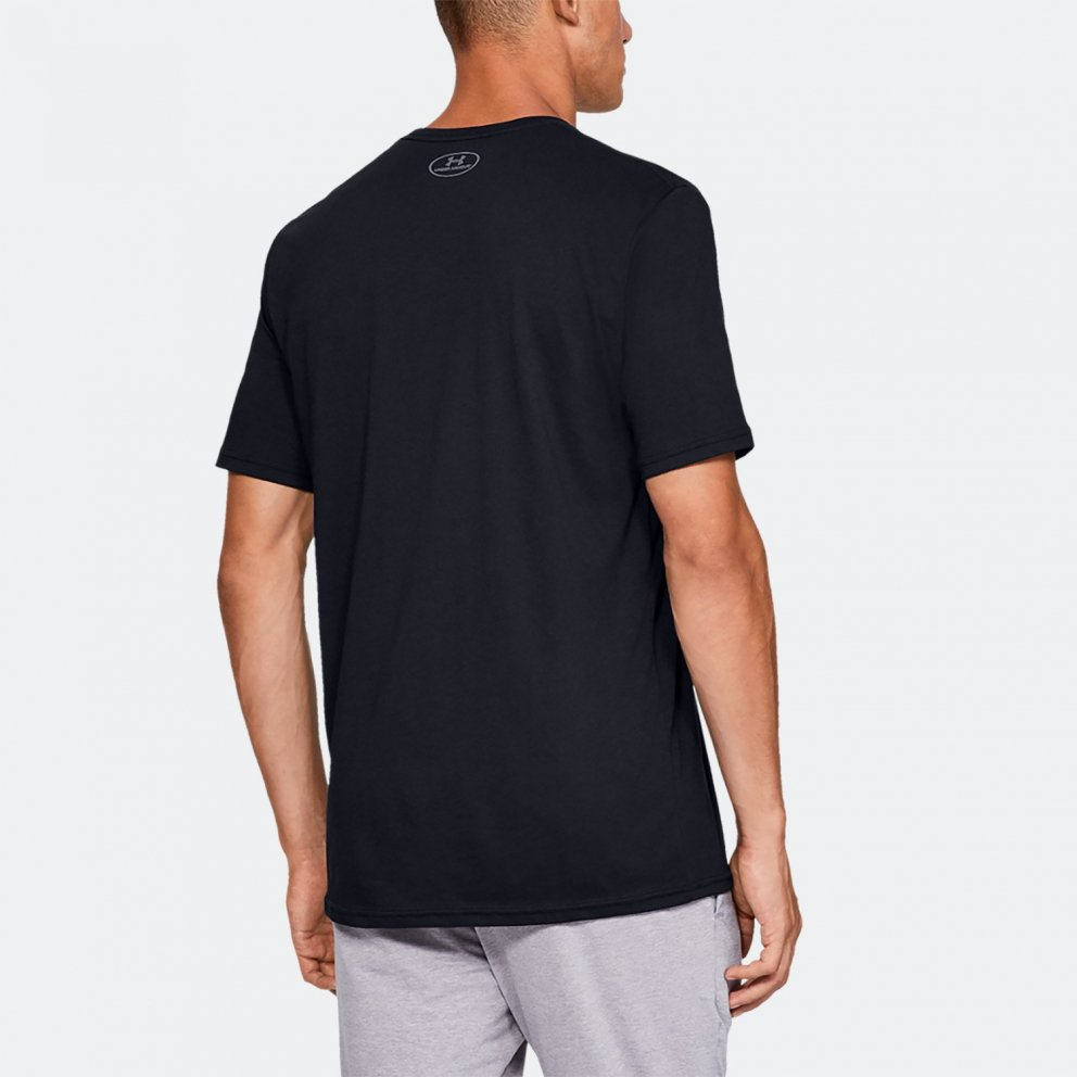 Under Armour Rival Fleece Sportstyle Logo Ανδρικό T-Shirt