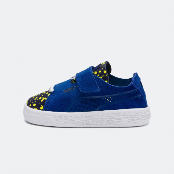Puma Suede Deconstructed Monster Kids' Trainers