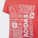 Adidas Iconic Tee - Παιδικό T-Shirt Για Κορίτσι