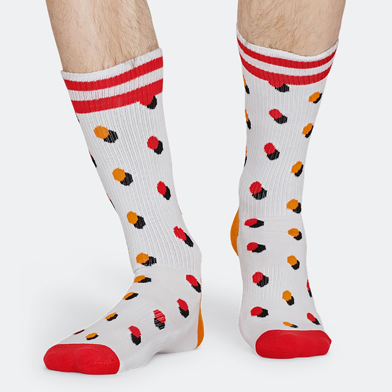 Happy Socks Athletic Shadow Dot Unisex Socks - Unisex Κάλτσες (9000031287_9688)