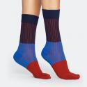 Happy Socks Block Rib Sock