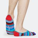 Happy Socks Multi Stripe Liner Unisex Socks - Unisex Κάλτσες