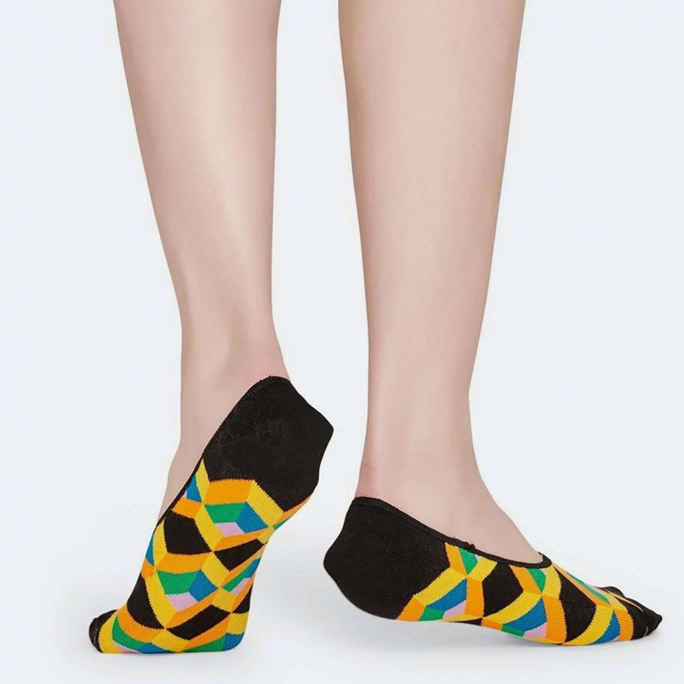 Happy Socks Optic Squres Liner Sock