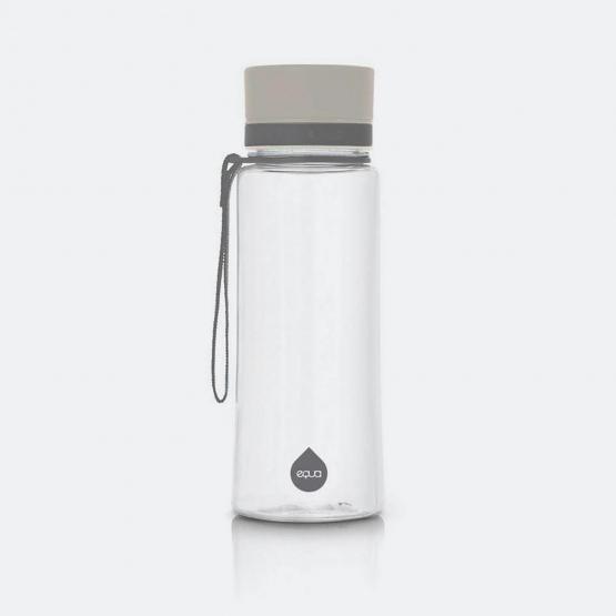 Equa Bottles Grey Plainsiva 600Ml, 21,8X7,5X7,5Cm