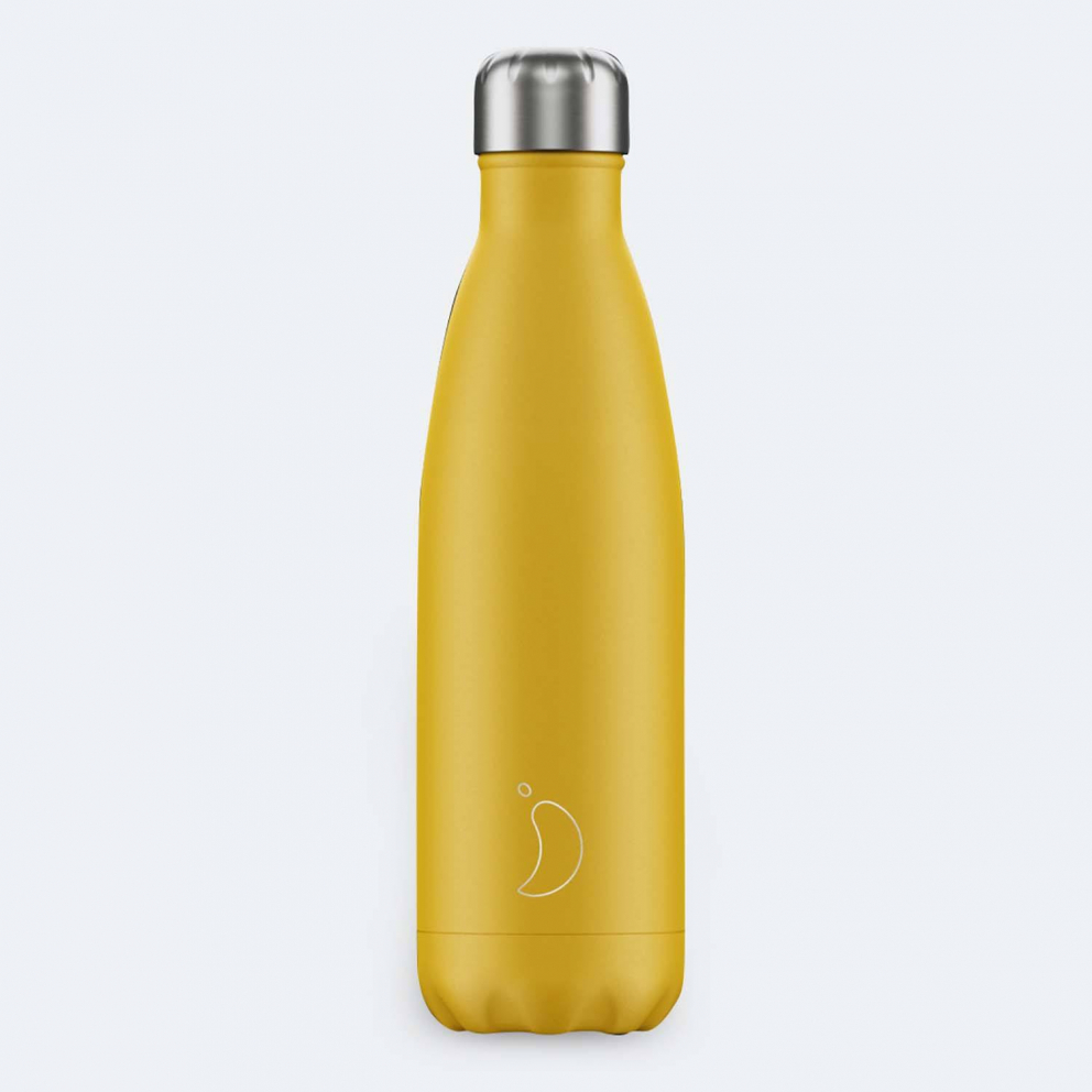 Chilly's Μπουκάλι Θερμός - Matte Burnt Yellow 500ml