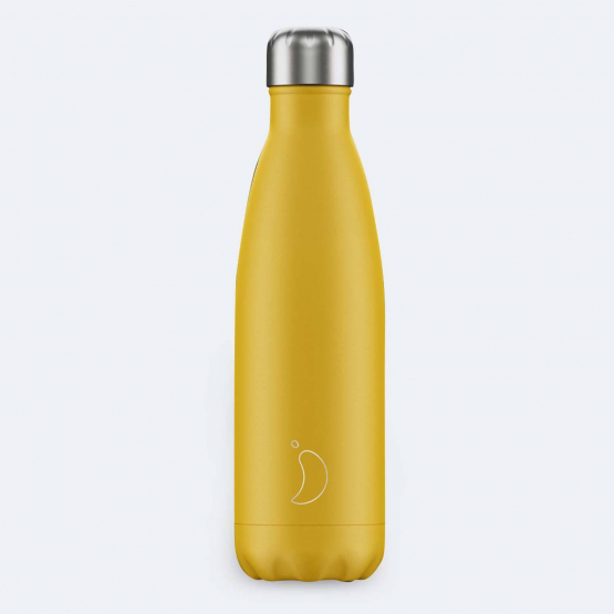 Chilly's Μπουκάλι θερμός - Matte Burnt Yellow 500 ml