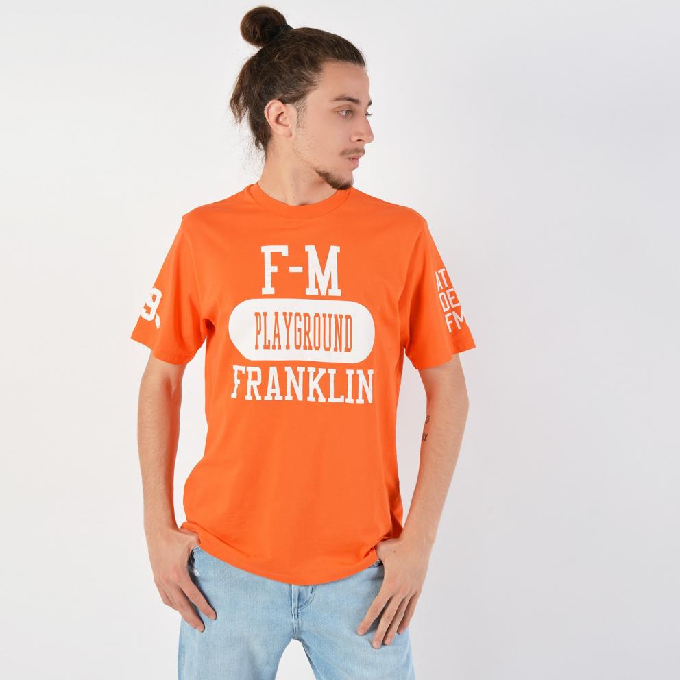 Franklin & Marshall Jersey Round Neck T-Shirt - Ανδρικό Μπλουζάκι
