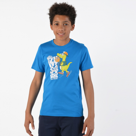 Russell Dino Basketball Kids Tee