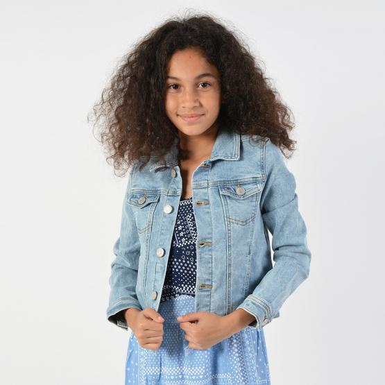 Tommy Jeans Kids Denim Trucker Jacket