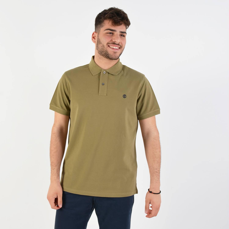 Timberland Millers River Polo Men's Shirt - Ανδρική Μπλούζα (9000029875_38751)