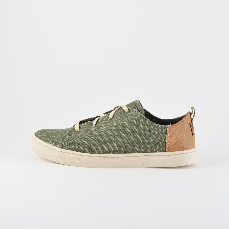 TOMS Slub Chambray Kid's Lenny Sneakers (9000026022_1985)