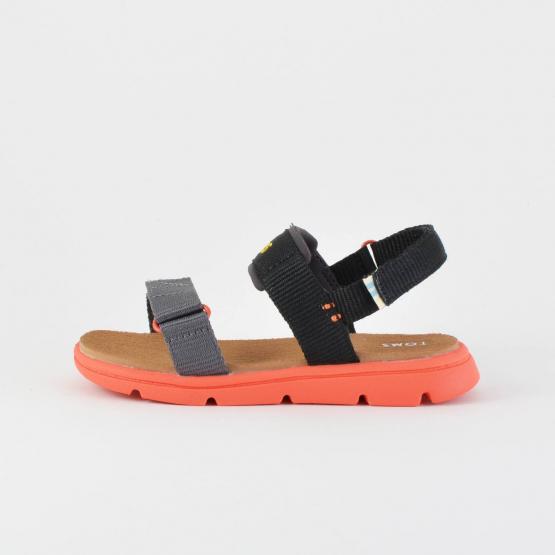 Toms Black Solid Infants' Sandals